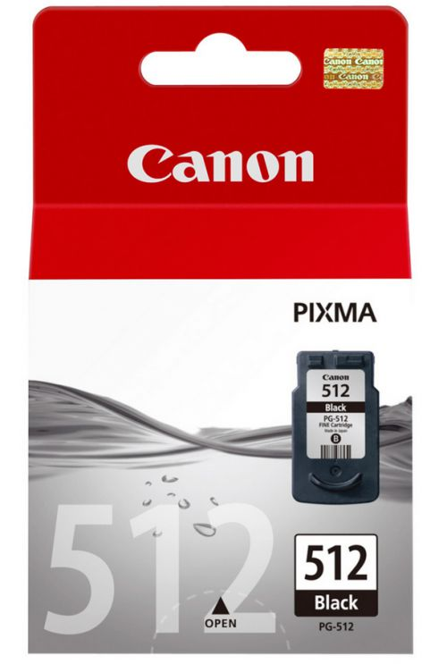 Canon PG-512 (Yield: 401 Pages) High Yield Black Ink Cartridge