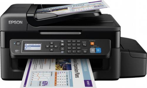 Epson EcoTank ET-4550 (A4) All-in-One Wireless Colour Inkjet Printer (Print/Copy/Scan/Fax) 5.6cm Mono LCD 33ppm (Mono) 15ppm (Colour)