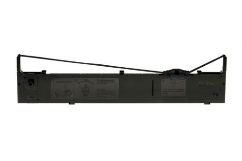 Epson S015086 (12,000,000 Characters) Black Fabric Ink Ribbon Cartridge