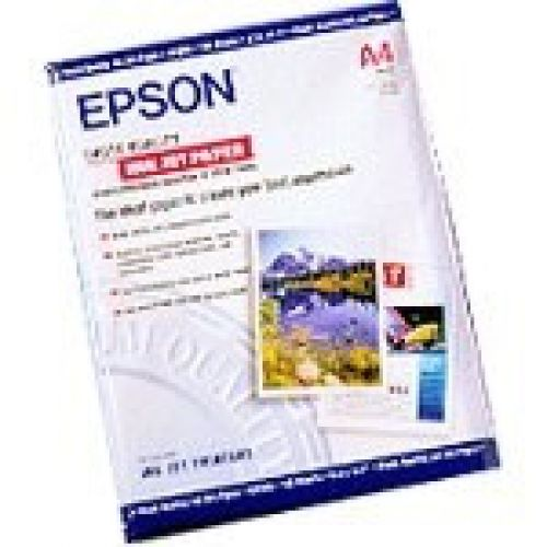 Epson (A4) Enhanced Matte Photo Paper (250 Sheets) 192gsm (White)
