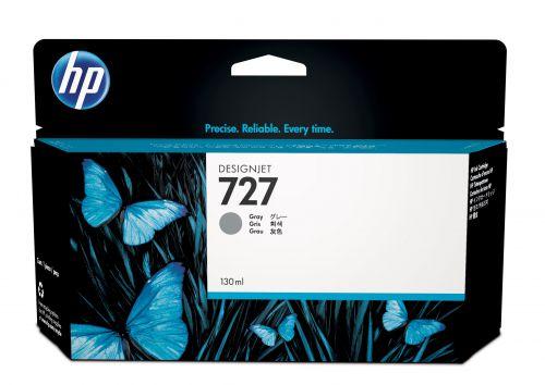 HP 727 (Volume: 130ml) Grey Ink Cartridge