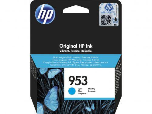 HP 953 (Yield 700 Pages) Cyan Original Ink Cartridge