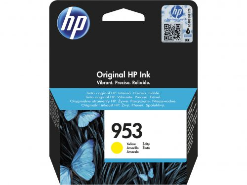 HP 953 (Yield: 700 Pages) Yellow Ink Cartridge