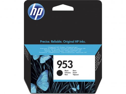HP 953 (Yield 1,000 Pages) Black Original Ink Cartridge for OfficeJet Pro 8210/8715/8725/8730/8740