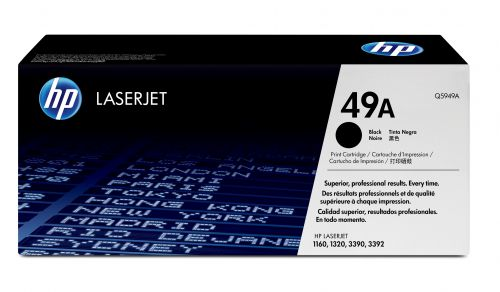 HP 49A (Yield: 2,500 Pages) Black Toner Cartridge