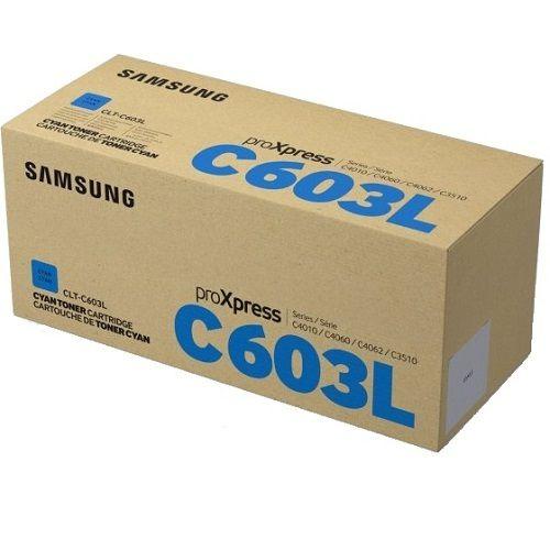 HP CLT-C603L (Yield 10,000 Pages) Laser Toner Cartridge (Cyan)