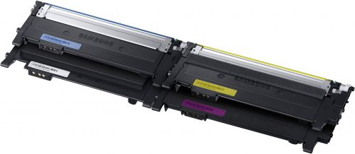 HP CLT-P404C (Yield: 1,500 Black/1,000 Colour Pages) Black/Cyan/Magenta/Yellow Laser Toner Cartridge