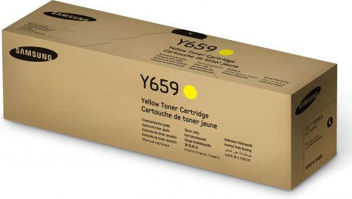 HP CLT-Y659S (Yield 20,000 Pages) Yellow Toner Cartridge for CLX-8650ND/CLX-8640ND Laser Printers
