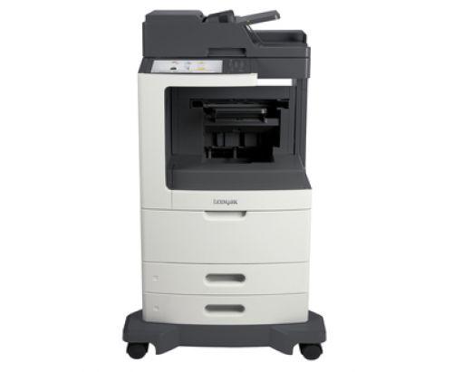 Lexmark MX810dfe Mono Laser Multifunction Printer (Print/Scan/Copy/Fax) 1GB (10.2 inch) Colour Touchscreen 52ppm (Mono)