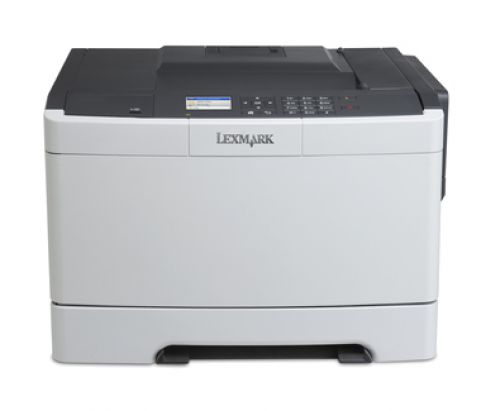 Lexmark CS410n Colour Laser Printer 256MB (2.4 inch) Colour LCD Display 30ppm (Mono) 30ppm (Colour)