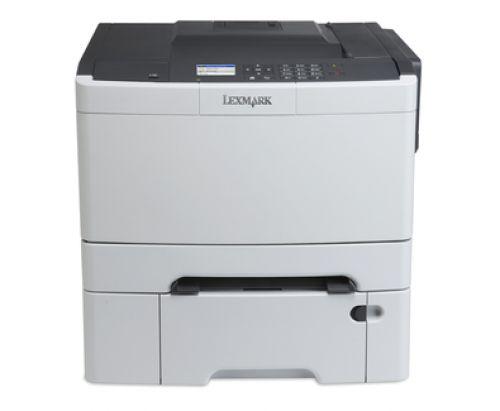 Lexmark CS410dtn Colour Laser Printer 256MB (2.4 inch) Colour LCD Display 30ppm (Mono) 30ppm (Colour)