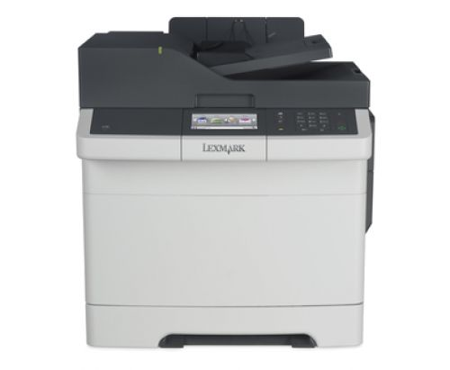Lexmark CX410e Laser Colour Multifunction Printer (Print/Copy/Scan/Fax) 512MB (4.3 inch) Colour Touch Screen 30ppm (Mono) 30ppm (Colour)