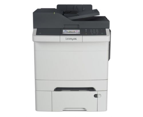 Lexmark CX410dte Laser Colour Multifunction Printer (Print/Copy/Scan/Fax) 512MB (4.3 inch) Colour Touch Screen 30ppm (Mono) 30ppm (Colour)