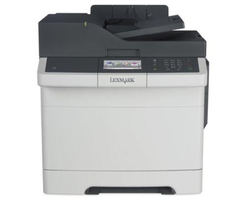 Lexmark CX417de (A4) Colour Laser Printer (Duplex/Copy/Scan/Fax) 512MB 4.3 inch Colour Touchscreen 30ppm (Mono/Colour) 75,000 (MDC)