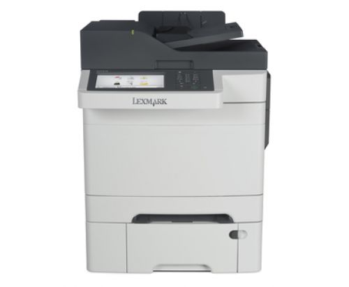 Lexmark CX510dthe (A4) Colour Laser Multifunction Printer (Print/Scan/Copy/Fax) 1GB (7 inch) Colour Touch Screen 30ppm (Mono) 30ppm (Colour)