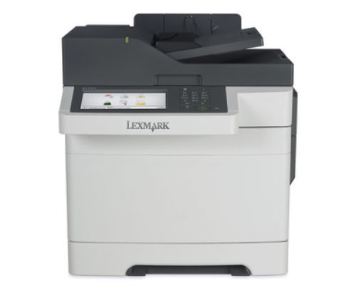 Lexmark CX510dhe (A4) Colour Laser Multifunction Printer (Print/Scan/Copy/Fax) 1GB (7 inch) Colour Touch Screen 30ppm (Mono) 30ppm (Colour)