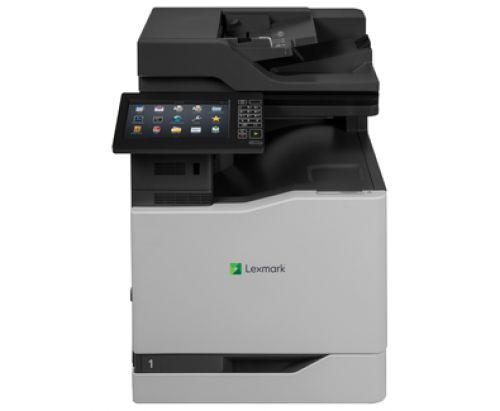 Lexmark CX825de (A4) Colour Laser Multifunction Printer (Print/Copy/Scan/Fax) 2048MB (10 inch) Class Colour Screen 52ppm (Mono) 52ppm (Colour) 250,000