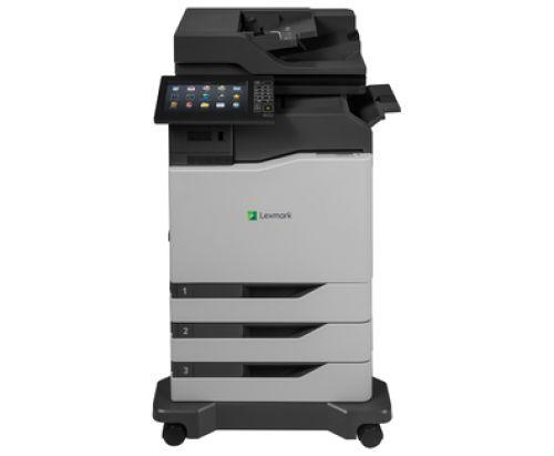 Lexmark CX825dtfe (A4) Colour Laser Multifunction Printer (Print/Copy/Scan/Fax) 2048MB (10 inch) Class Colour Touchscreen 52ppm (Mono) 52ppm (Colour)