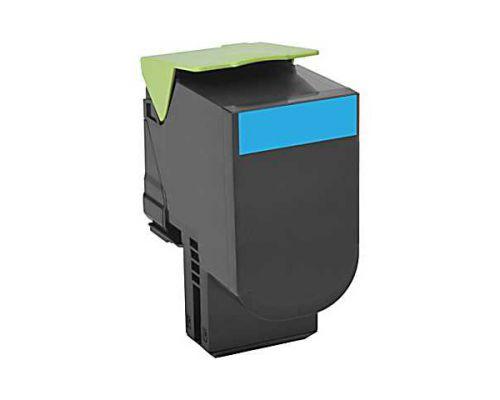 Lexmark 800H2 High Yield (3000 Pages) Cyan Toner Cartridge
