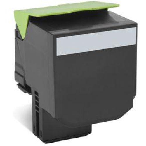 Lexmark 802XK (Extra High Yield: 8,000 Pages) Black Toner Cartridge
