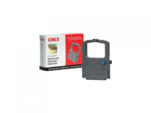 OKI Nylon Ribbon Cartridge (Black) for ML5520/ML5521/ML5590/ML5591 Dot Matrix Printers