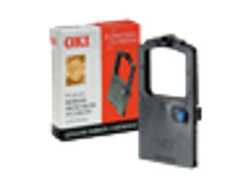 OKI Nylon Ribbon Cassette (Black) for ML380/ML385/ML386/ML390/ML391/ML3390/ML3391 24-pin Dot Matrix Printers