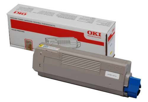OKI C610 YELLOW TONER OKI C610 YELLOW TONER