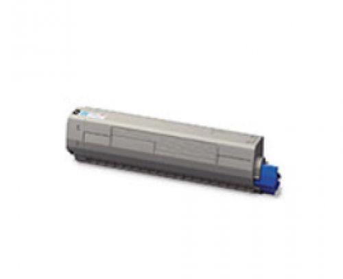 OKI 45862839 (Yield: 7,300 Pages) Cyan Toner Cartridge