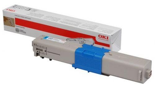 OKI 46508715 (Yield: 1,500 Pages) Cyan Toner Cartridge