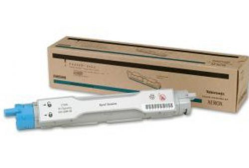 Xerox (Cyan) High Capacity Toner Cartridge (Yield 8,000 Pages) for Phaser 6200