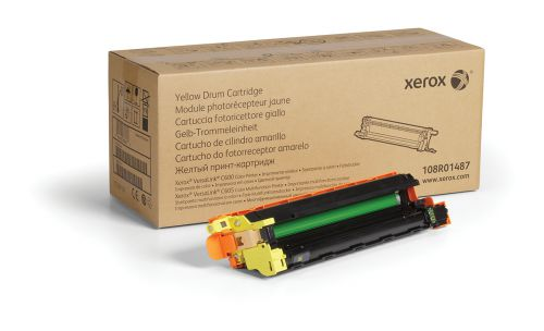 Xerox 108R01487 (Yield: 40,000 Pages) Yellow Drum Cartridge
