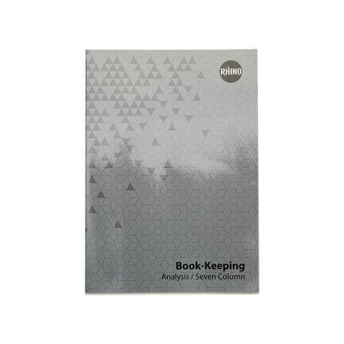 Book Keeping Printed A4 32 Page A7F8 BKA 3P