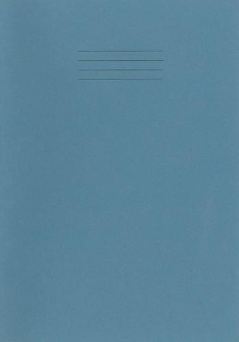 Rhino Special Exercise Book A4 S10 Light Blue Cove r Green 48 Page Ex681339G 3P