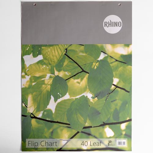 Rhino Flip Chart Blank A1 40 Leaves Pack of 5 FC1T MP 3P