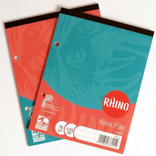 RHINO 8 x 6 Refill Pad 60 Leaf, F8 (Pack 6)