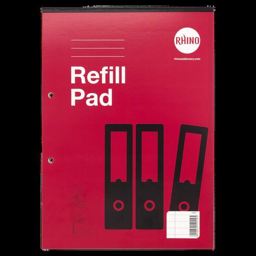RHINO A4 Refill Pad 80 Leaf, F8M (Pack 6)