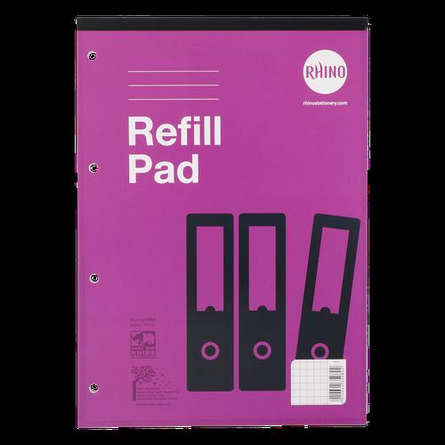 RHINO A4 Refill Pad 80 Leaf, S5 (Pack 6)