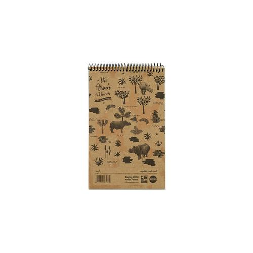 RHINO 8 x 5 Recycled Shorthand Notepad 80 Leaf, F8 (Pack 10)