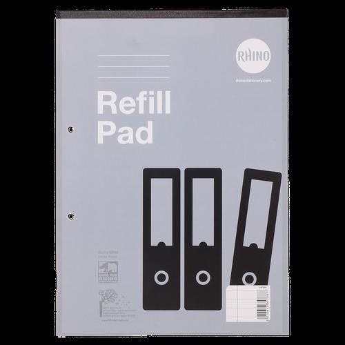 RHINO A4 Refill Pad 80 Leaf, F8M (Pack 10)