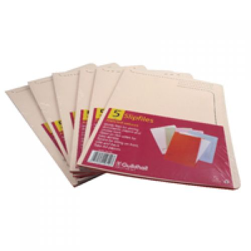 Cut Flush Open 2 Side Slipfile Folders