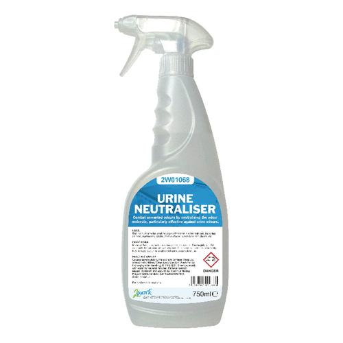 2Work Urine Neutraliser Colourless Trigger Spray 750ml 2W01068