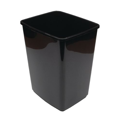 2Work Swing Bin Base Only 10 Litre Plastic Black 2W02385