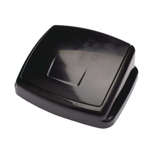 2Work Swing Bin Lid 30 Litre Plastic Black 2W02394