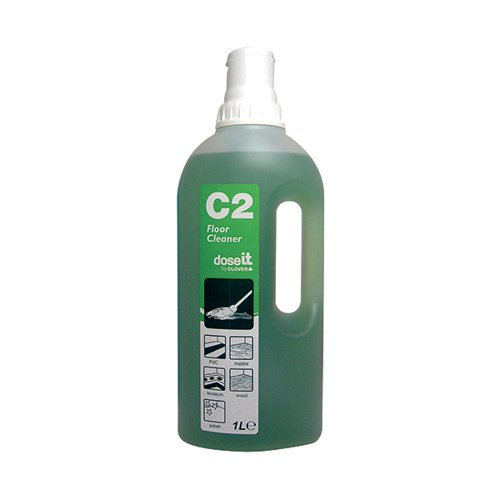 Dose It C2 Floor Cleaner 1 Litre (Pack of 8) 2W06307