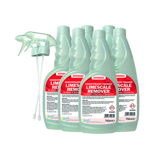 2Work Limescale Remover 750ml (Pack of 6) 524