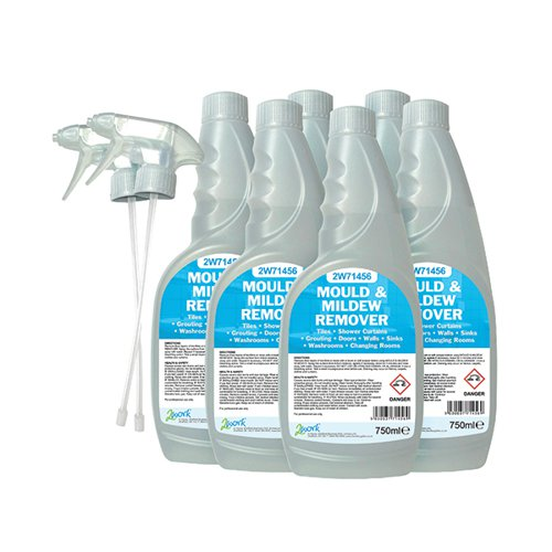 2Work Mould And Mildew Cleaner 750ml (Pack of 6) 252SVW