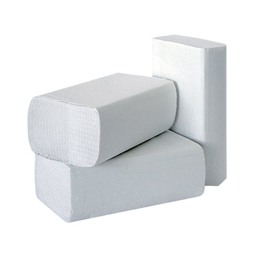 2Work 1-Ply Multi-Fold Hand Towels White (Pack of 3000) 2W70583