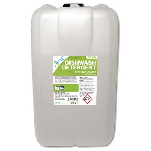 2Work Dishwasher Detergent 20 Litre 2W75998