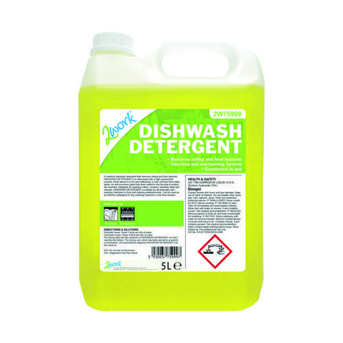 2Work Dishwasher Detergent Anti-Corrosive 5 Litre 314