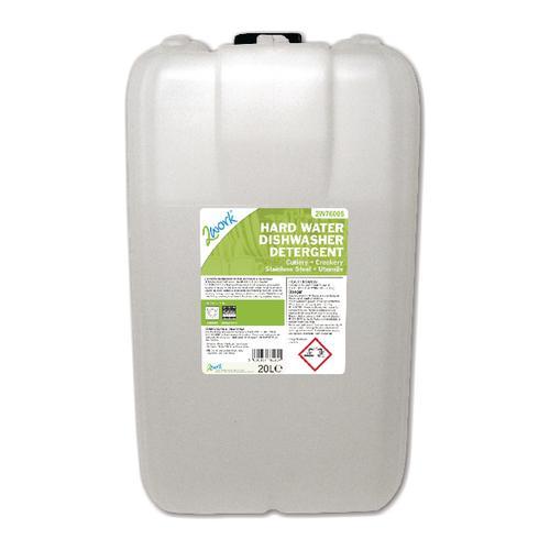 2Work Hard Water Dishwasher Detergent 20 Litre 2W76005